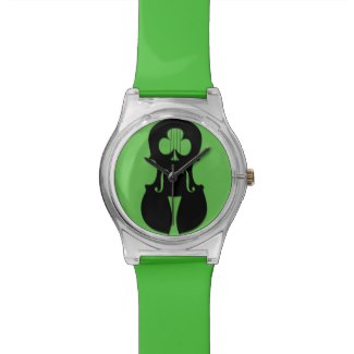 irish music wrist watch