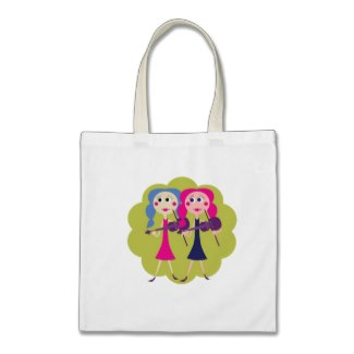 fiddle sisters tote